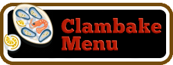 Clambakes of Massachusetts Catering Clambake Menu